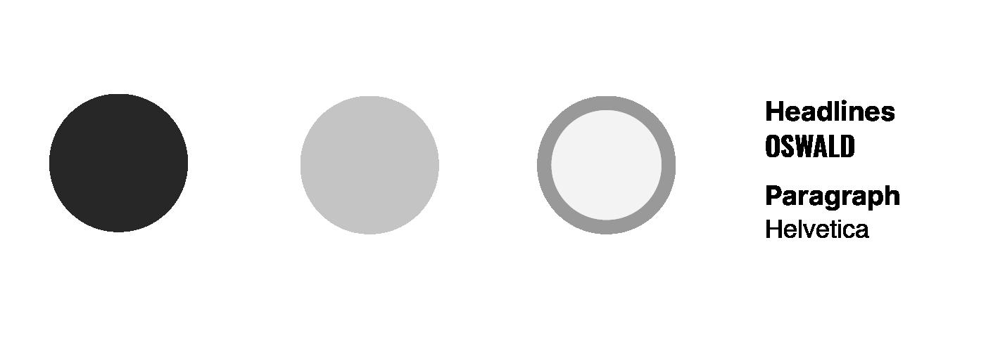 Palette e font del sito GAU Arena